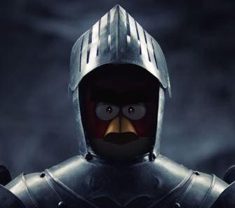 medieval Angry Birds Knight armor