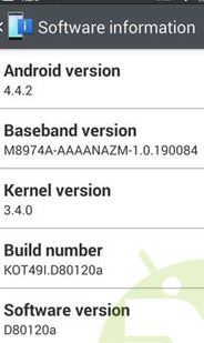 Update LG G2 to Android 4.4.2