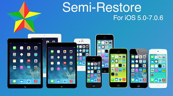 semirestore7 ios 7 jailbreak iOS 7.1