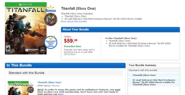 Titanfall deals