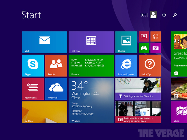windows 8.1 leaked update