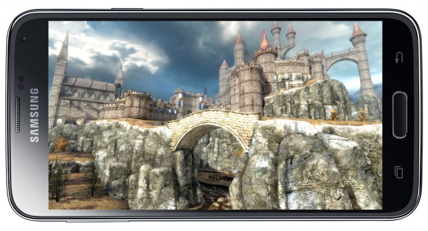 galaxy s5 3d gaming
