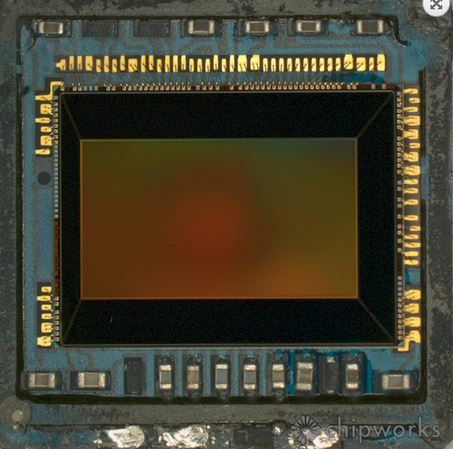 Galaxy S5 camera sensor
