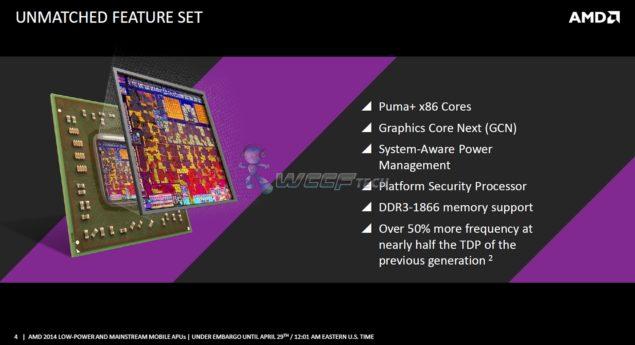 AMD Puma+ x86 Cores