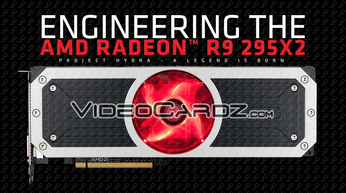AMD Radeon R9 295X2 'Vesuvius' Official Specifications and Pictures Unveiled - Full Hawaii XT ...