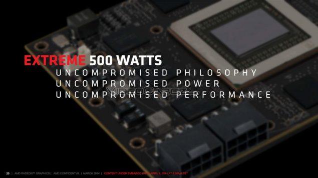 AMD Radeon R9 295X2_Presentation_500W