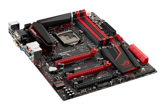 ASUS Maximus VII Hero Render