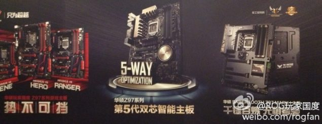ASUS Z97 Motherboards