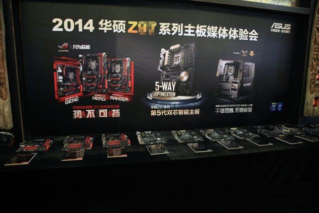 ASUS Z97 Motherboards Complete