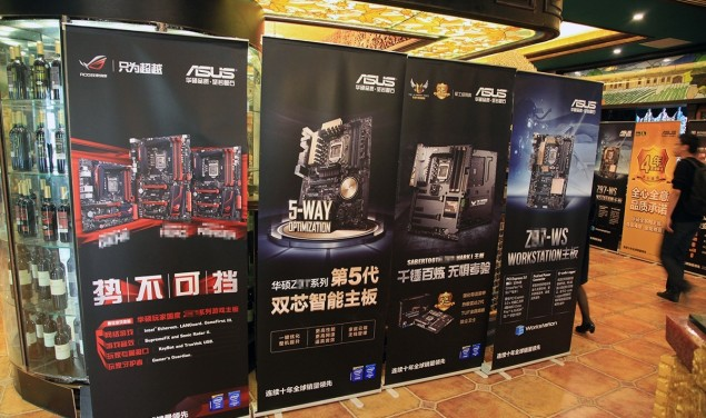 ASUS Z97 Motherboards Lineup