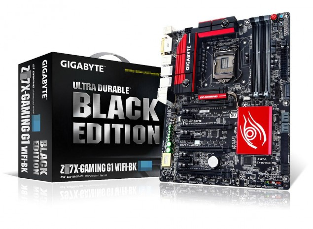 Gigabyte Z97X Gaming G1 WiFi Black Edition Z97 Motherboards