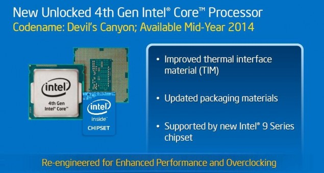 Intel Haswell Refresh Devil's Canyon