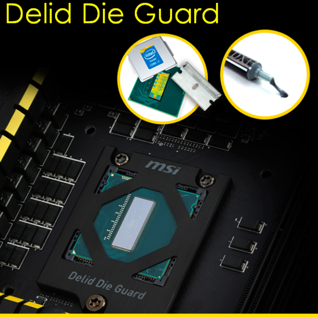 MSI Z97 XPOWER AC Delid Die Guard