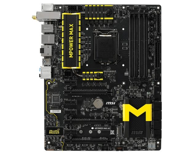 MSI Z97 MPOWER MAX AC Motherboard