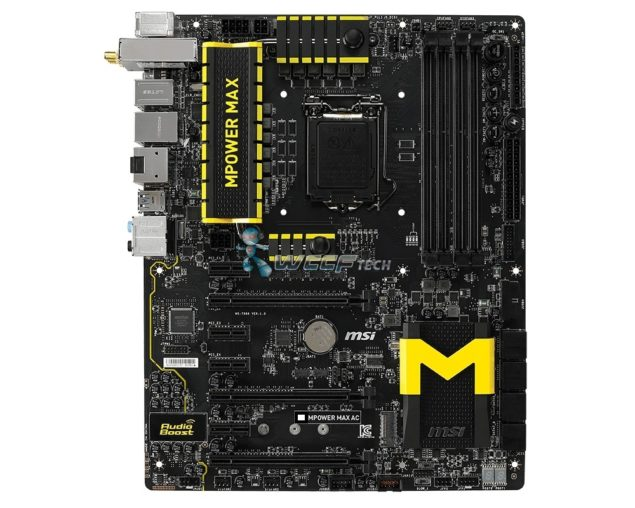 MSI Zxx MPOWER MAX AC Motherboard