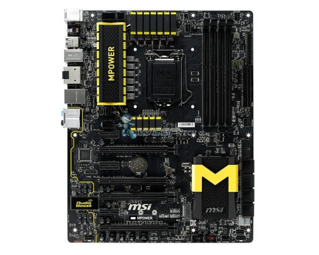 MSI Zxx MPOWER Motherboard