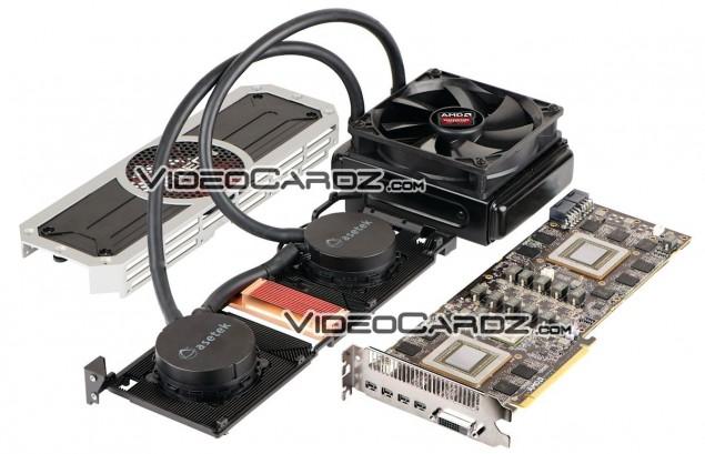 Radeon R9 295X2 Nude