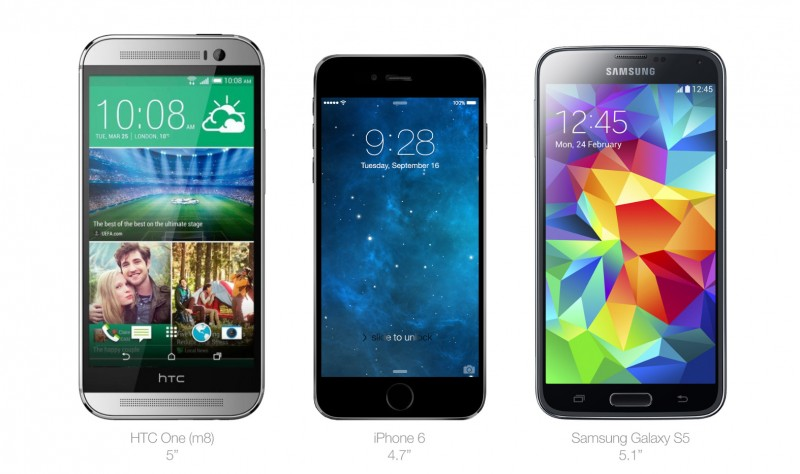 iphone 6 vs android lg g2