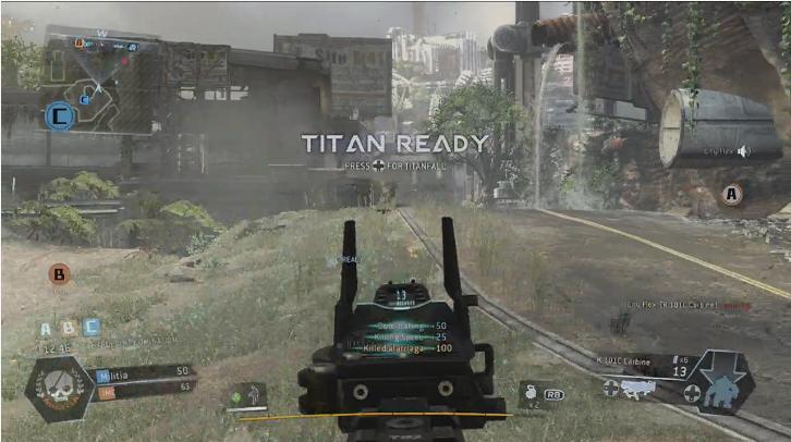 Fuse Xbox 360 Gameplay : Titanfall xbox vs one screenshot comparison