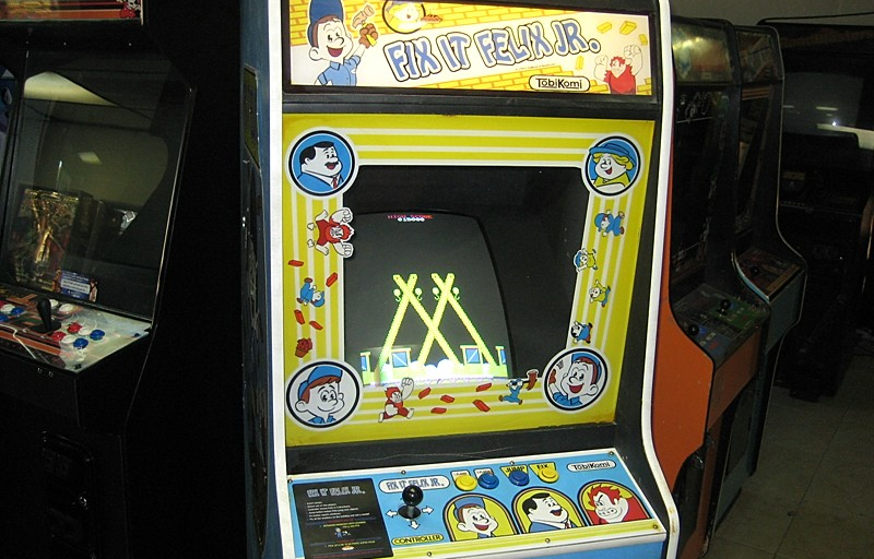 Wreck-it-Ralph Vintage Arcade Machine Arrives on e-Bay with a ...
