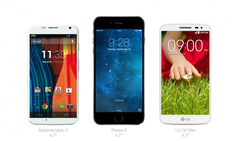 iphone 6 vs android smartphones