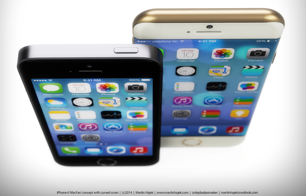 curved iphone 6 images