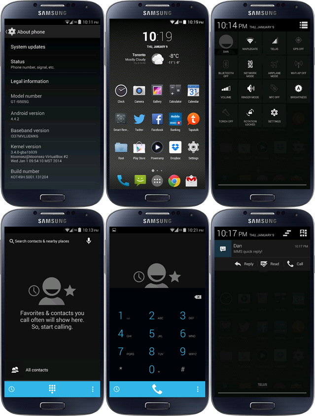 Google Play Edition (KOT49H) ROM for Samsung Galaxy S4 I9505