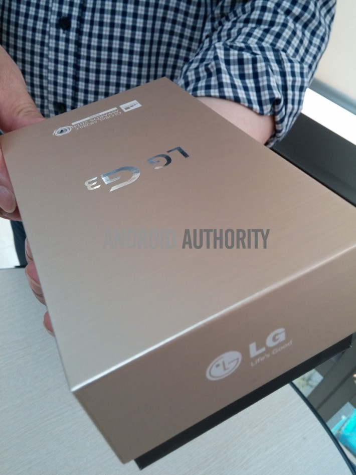 leaked LG G3 packaging images