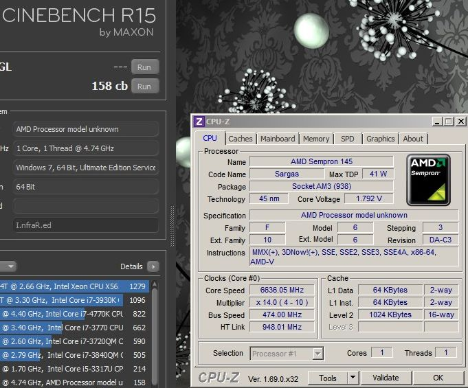 Old is Gold  AMD Sempron 145 overclocked to new records