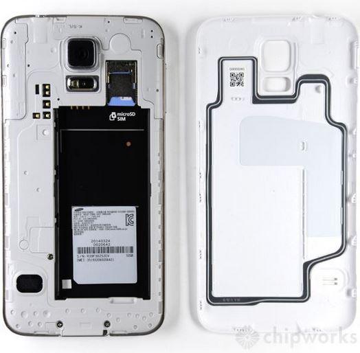 Galaxy S5 teardown