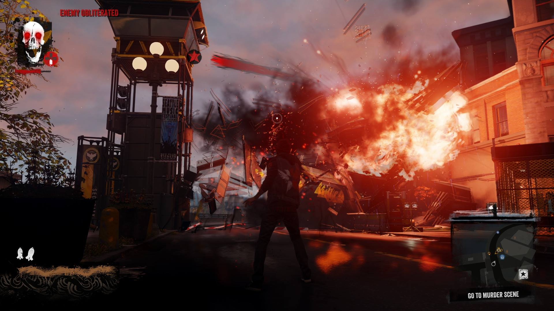 Watch Dogs Vs Infamous Second Son Screenshot Comparison