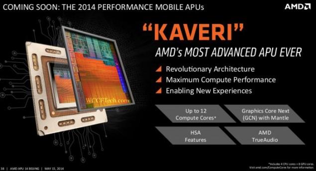 AMD Kaveri APU Mobile