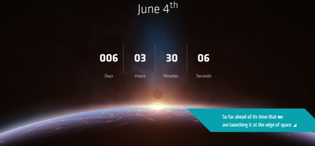 AMD Space Mysterious Countdown