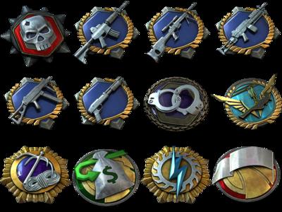 Battlefield HardLine Medals