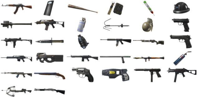 Battlefield HardLine Weapons
