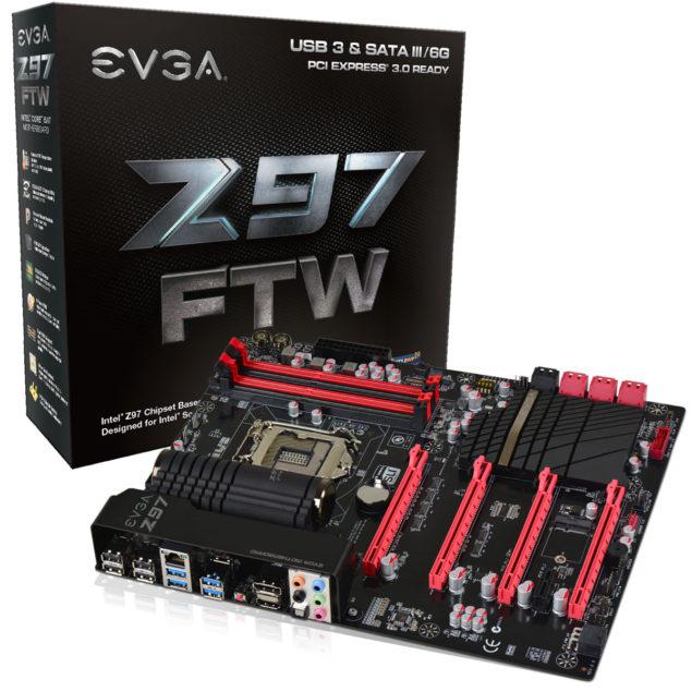 EVGA Z97 FTW Box