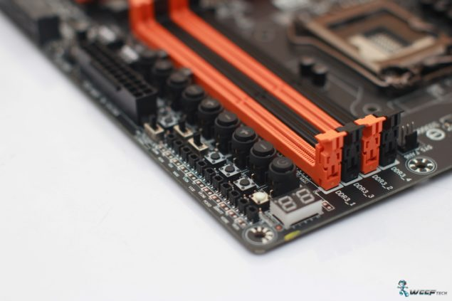 Gigabyte GA-Z97X-SOC FORCE_DDR3 DIMMS