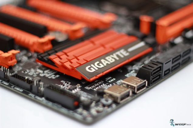 Gigabyte GA-Z97X-SOC FORCE_PCH Heatsink