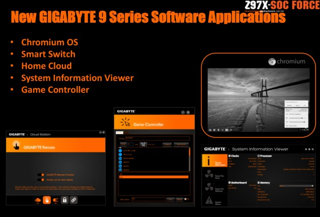 Gigabyte Software Apps
