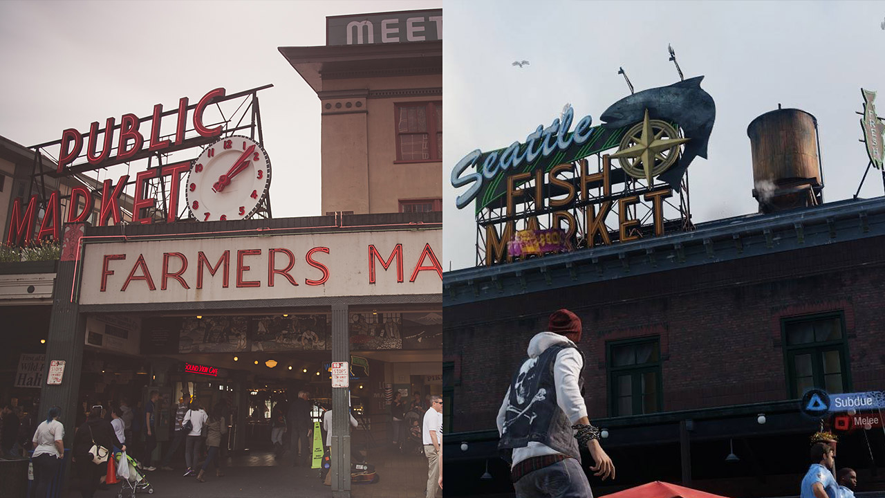 Official infamous second son screenshot comparison in for Real life fishing games