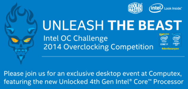 Intel Computex 2014 Competition