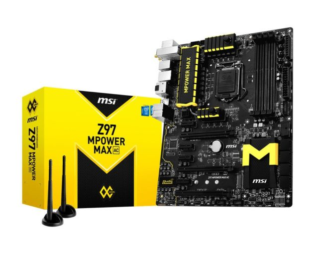 MSI Z97 MPOWER MAX Motherboard Box