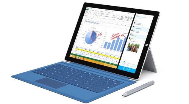 Microsoft Surface pro 3 Render