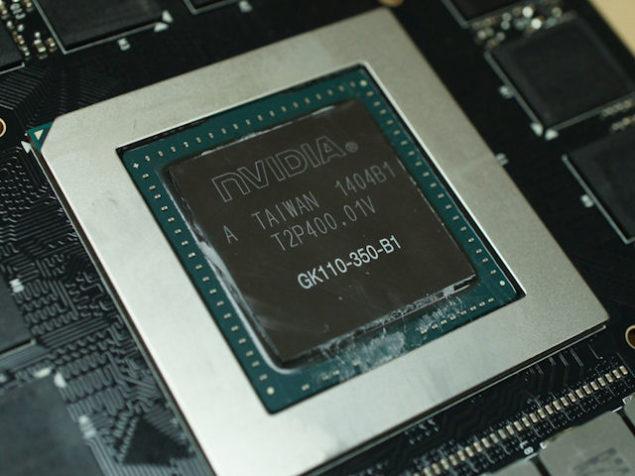 NVIDIA GK110-350-B1 Core