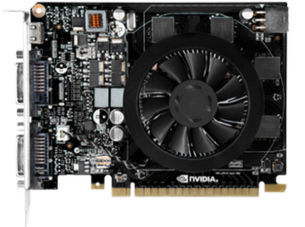 NVIDIA GeForce GT 740 Front