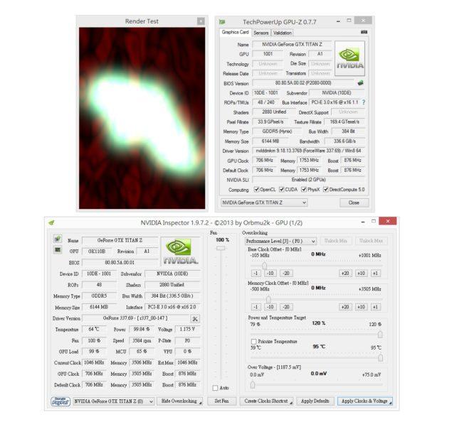 NVIDIA GeForce GTX Titan Z GPUz