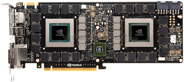 NVIDIA GeForce GTX Titan Z PCB Shot