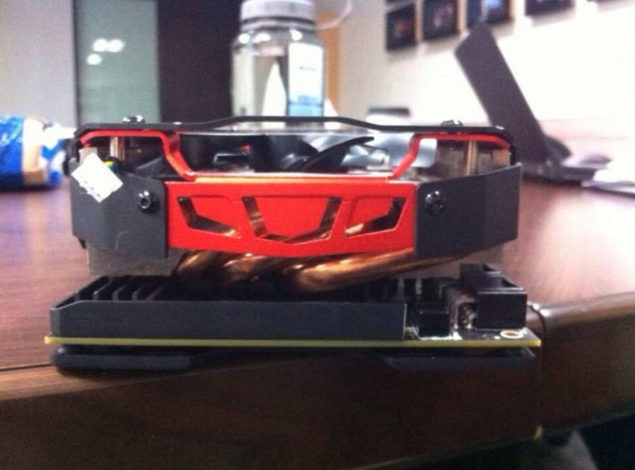 PowerColor Radeon R9 295X2 Devil 13 Back