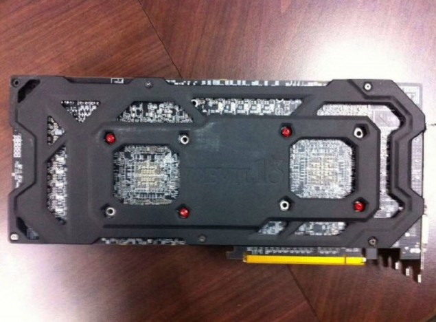 PowerColor Radeon R9 295X2 Devil 13 BackPlate