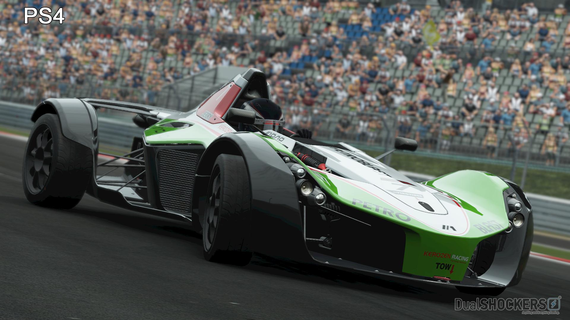 Project CARS Screenshot Comparison: PS4 Vs PC Version On
